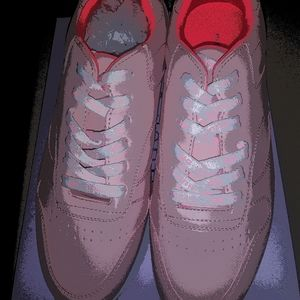 New Ladies Steve Madden Pink Wedge Sneakers Size 9